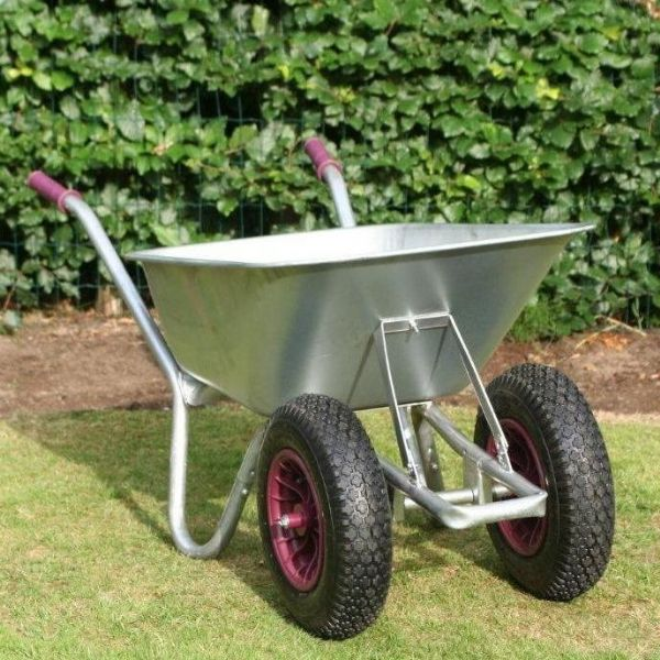 County Carrier Duo Wheelbarrow | 2 Wheel Wheelbarrow